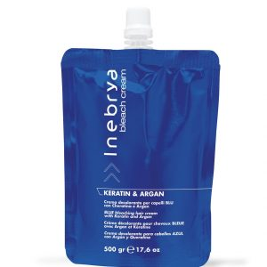 INEBRYA  BLEACH CREAM KERATIN & ARGAN