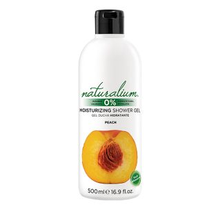 NATURALIUM MOISTURIZING SHOWER GEL PEACH