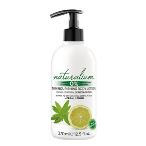NATURALIUM SKIN NOURISHING BODY LOTION HERBAL LEMON
