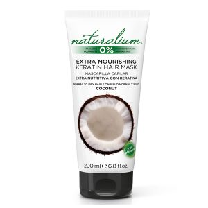 NATURALIUM EXTRA NOURISHING KERATIN HAIR MASK COCONUT