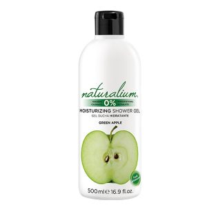 NATURALIUM MOISTURIZING SHOWER GEL GREEN APPLE