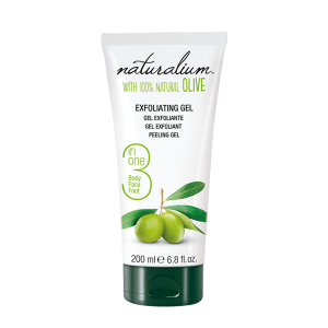 NATURALIUM EXFOLIATING GEL - OLIVE