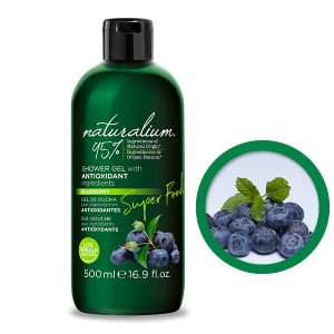 NATURALIUM SHOWER GEL with ANTIOXIDANT ingredients